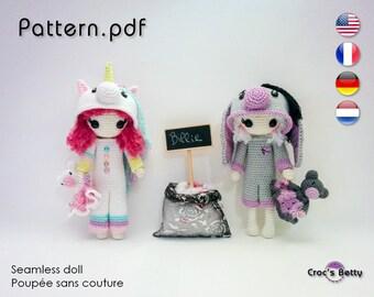 Pattern - Billie Kigurumi Party