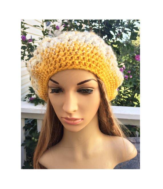 7bbf6bda550 crochet Slouchy Hat