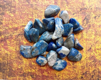 Lapis Lazuli Healing Gemstone; Tumbled Gemstones; Polished Gemstones