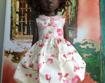 Cherry blossom bubble dress for Kaye Wiggs MSD