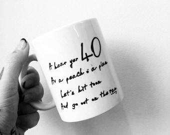40 Scottish Age Mug