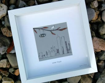 A 9/11 memorial gift, handcrafted in Ireland, 'Never Forget'