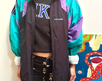 adidas jacket mixed vintage 90's