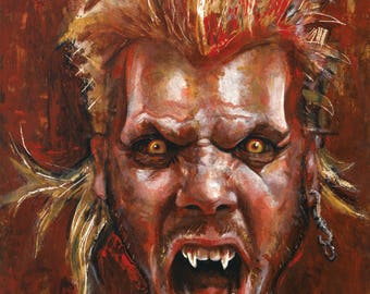 30th Anniversary Original Painting Lost Boys David the Vampire