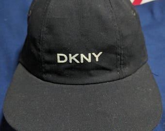 vintage 90s DKNY donna karen newyork flexfits onesize cap hat