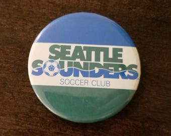 Vintage Seattle Sounders button