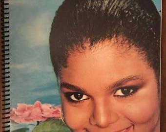"Janet Jackson notebook (8.5"" x 11"")"