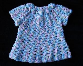 Newborn or Preemie Baby Dress