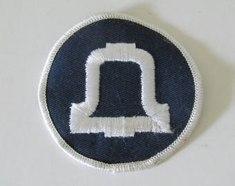 Vintage Southwestern Bell Telephone Embroidered Patch 1970's