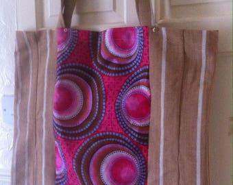African print sanyan bag