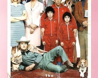 Back to School Sale: THE ROYAL TENENBAUMS Movie Poster Wes Anderson