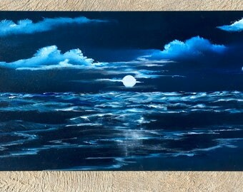 "Moonlight Paradise[40"" x 16""]"