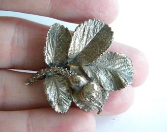 Scandinavian silver 925 FLORA DANICA brooch Rose Bud ~ EGGERT a3262