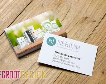 DIGITAL DOWNLOAD: Nerium International Customized Business Cards