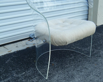 vintage mid century modern retro barrel lucite chair by hill new york