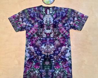 Small Kaleidoscopic tie dye shirt