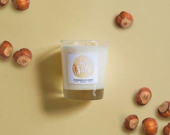 Vanilla Hazelnut Soy Candle 8 oz Jar - Who Is She?