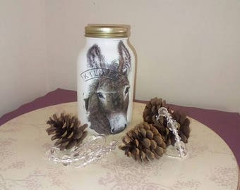 Little donkey jar free postage