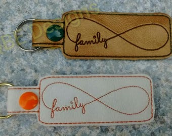 Infinity Purse Charms, Bag Tags or   Key Fobs