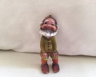 Vintage Gnome Ornament
