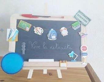 Slate for a retired school teacher - ☼☼ reserved ☼☼