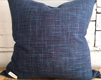 """""""Classic blue"""" Cushion cover, size: 22 """"x 22"""""""