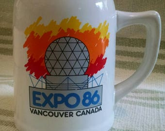 Expo 86 Vancouver Vintage Beer Stein