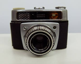 Vintage Hanimex Duomatic - 35mm Rangefinder Camera - 1960s - Retro Camera