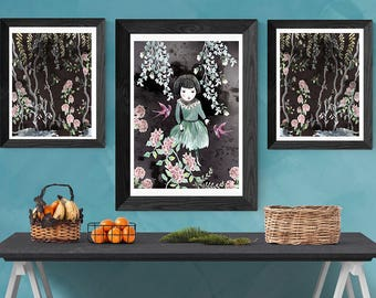 In the forest - Art Print
