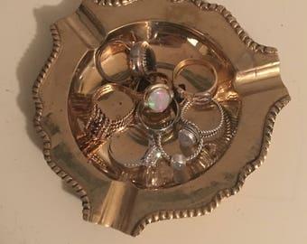 Brass Ring Tray / Jewelry Tray / Ashtray