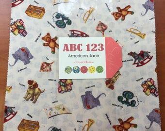 Moda American Jane ABC123 Layer Cake