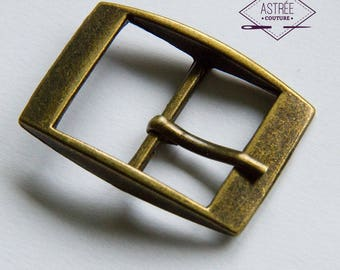 23 mm bronze belt buckle