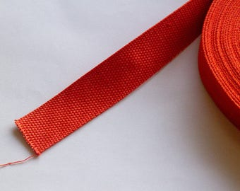 Strong webbing, cotton/polyester