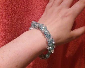 Gemstone Bracelets by XarahCreates