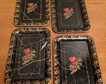 Vintage Supper Trays (4)
