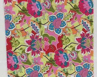 Bright Floral Pillowcase