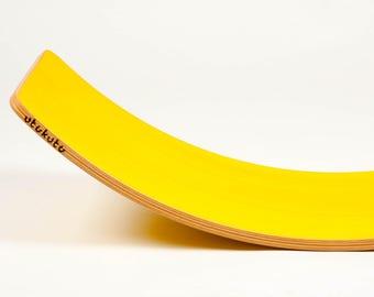 Rocker board - yellow