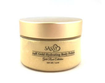 24K Gold Hydrating Body Polish
