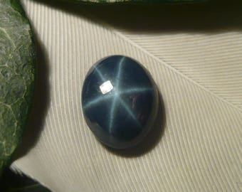 DISCOUNT Star Sapphire Cabochon, 1.85ct (Damaged)