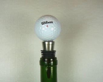 Wilson Golf Ball - Wine Stopper