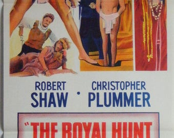 The Royal Hunt Of The Sun - 1969 - Robert Shaw - Christopher Plummer