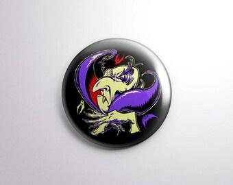 Transylvania Drac Pack Pin Pinback Buttons / Badges - 25 mm / 1 inch - Universal Monsters Horror Movie Badges Nosferatu Dracula Vampire