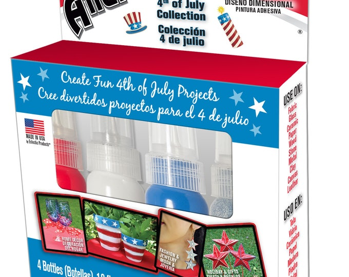 4th Of July Allure Dimensional Design Adhesive Paint