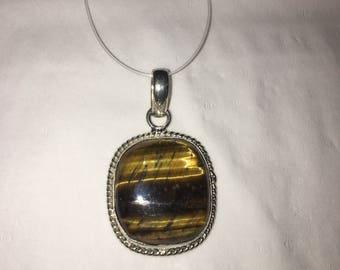 Tigers eye pendant