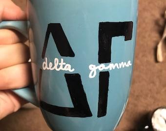 Delta Gamma mug