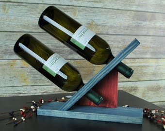 Wine Bottle Display Wine Bottle Display  Etsy