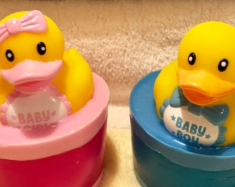 Baby Shower Ducky Soap Favors