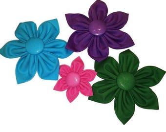 Dog Collar Flower // Dog Collar Accessory // Dog Collar Accessories // Flowers