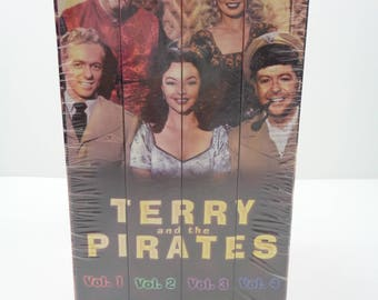 Terry and the Pirates VHS Box Set Vol. 1 2 3 4 NEW!