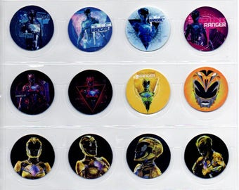 Power Rangers Tazos - Complete set of 50 -  Rare Taso Juguetes  Toys  Collection